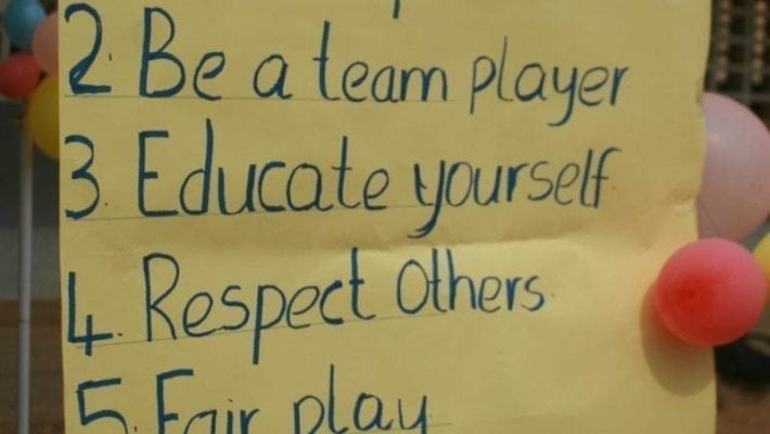Core Value Of The Month, Be A Team Player